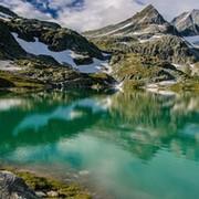 Горы зелень вода  № 657903 бесплатно