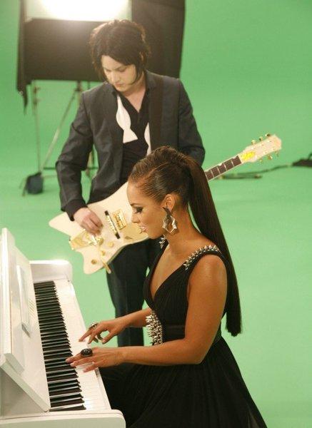 Jack White & Alicia Keys